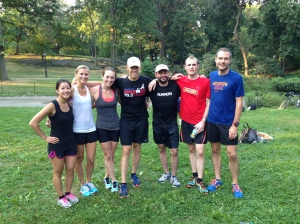 The Runner's World Team in New York City